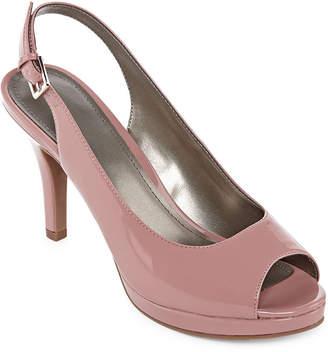 WORTHINGTON Worthington Womens Genesse Pumps Open Toe Stiletto Heel