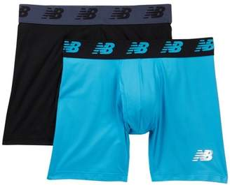 "New Balance Performance Everyday 6"" Boxer Briefs - Pack of 2"