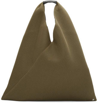 Maison Margiela Brown Triangle Tote