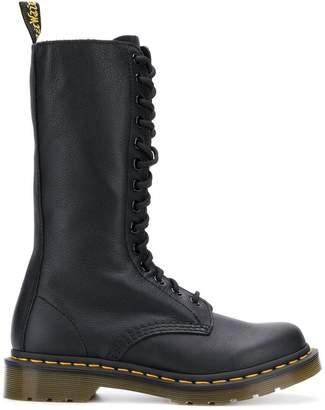 Dr. Martens 14-Eye zip boots