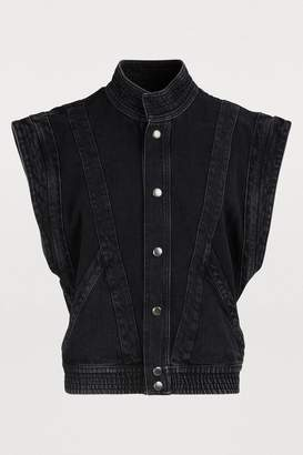 Givenchy Sleeveless denim jacket