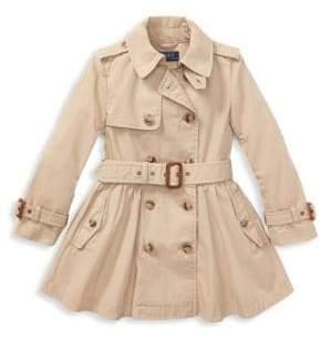 Ralph Lauren Little Girl's& Girl's Trench Coat