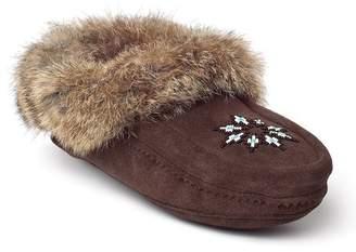 Manitobah Mukluks Genuine Rabbit Fur Kanada Moccasin