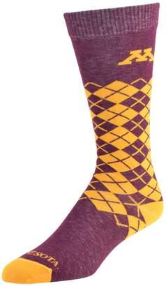 NCAA Women's Mojo Minnesota Golden Gophers Argyle Socks