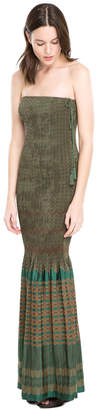 Max Studio stretch jacquard dress