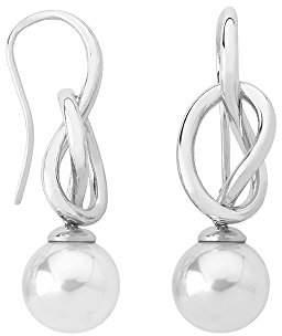 Majorica Women Silver Dangle and Drop Earrings 15531.01.2.000.010.1