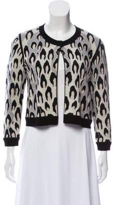 Diane von Furstenberg Wool Cropped Cardigan