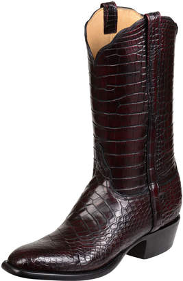 Lucchese Men's Baron Gator Western Boots