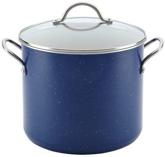 Farberware New Traditions Blue 12 Quart Covered Stockpot with Side Handles