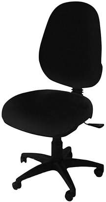 Office Chairs Ezitask High Back Office Chair, Diami Black