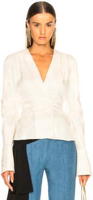 Hellessy Cass Top in Ecru | FWRD