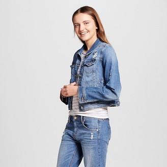 Mossimo Supply Co. Women's Denim Jacket Medium Blue - Mossimo Supply Co. $29.99 thestylecure.com