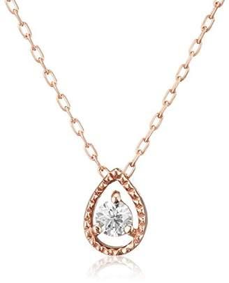 L'amour (ラムール) - [ラムールダイヤモンド] L'AMOUR DIAMOND 10K ピンクゴールド ダイヤモンドネックレス 0.03ct DN11406BP