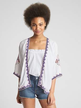 Gap Embroidered Topper Jacket