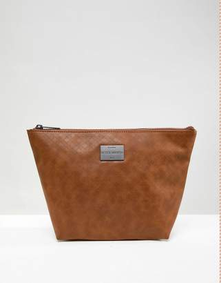 Peter Werth Tully Texture Toiletry bag