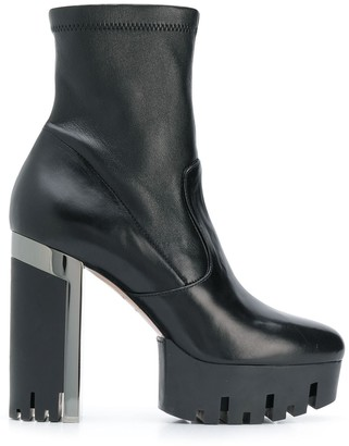 Le Silla stretch ankle boots