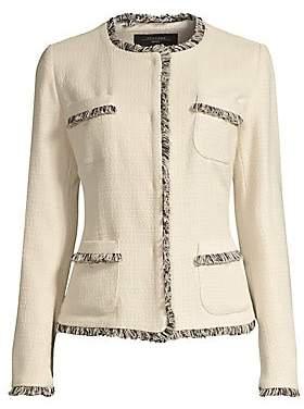 Max Mara Women's Edo Tweed Short Jacket