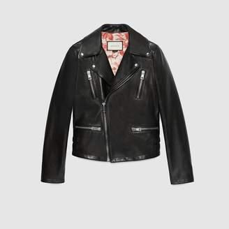 Gucci Leather biker jacket