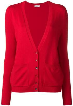 Liu Jo long-sleeve fitted cardigan