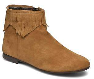 Andre Women's Coachella Zip-up Ankle Boots in Brown