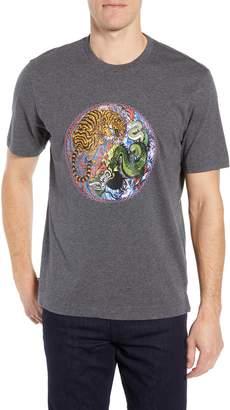 Robert Graham Yin & Yang Graphic T-Shirt
