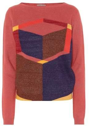 Bottega Veneta Wool-blend jacquard sweater