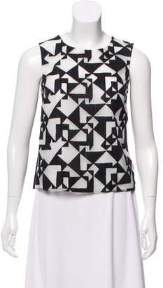Bailey 44 Patterned Sleeveless Top