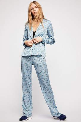 For Love & Lemons Skivvies By Spring Bloom Piped PJ Pant