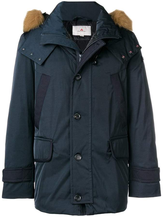 Peuterey padded cropped parka