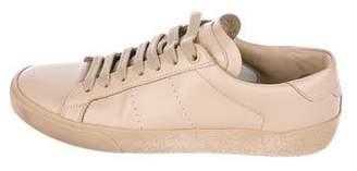 Saint Laurent 2017 SL/01 Leather Sneakers