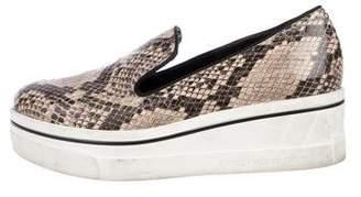 Stella McCartney Binx Vegan Embossed Leather Sneakers