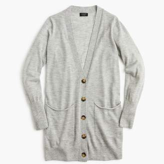 J.Crew Everyday featherweight cashmere oversized cardigan