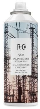 R+Co GRID Structural Hold Setting Hair Spray/5 oz. $29 thestylecure.com