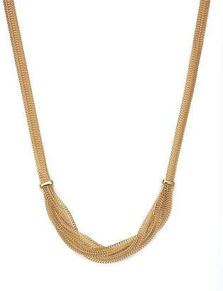 """Bloomingdale's 14K Yellow Gold Braided Mesh Necklace, 17"""" - 100% Exclusive"""