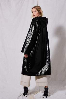 Topshop Vinyl Raincoat by Boutique
