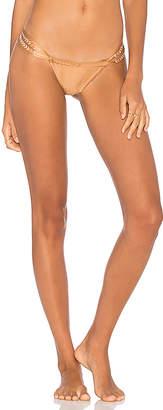 Ale By Alessandra Maldives Embroidered Brazil Bikini Bottom
