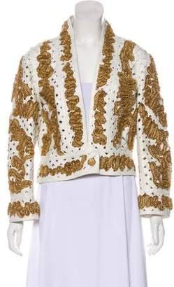 Chanel Embellished Lambskin Jacket