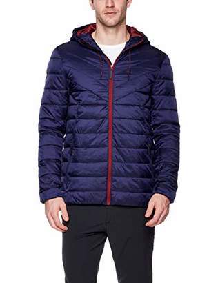 Blue Chill Men's Hooded Quilted Light Weight Jacket