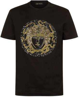Versace Crystal Medusa T-Shirt
