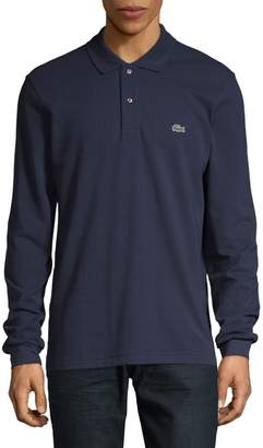 Lacoste Long-Sleeve Cotton Polo