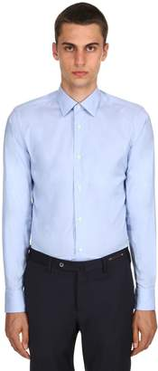 Ermenegildo Zegna Slim Fit Stretch Cotton Poplin Shirt