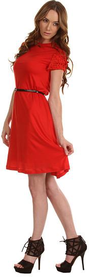 McQ by Alexander McQueen Laser Cut Dress