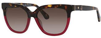 Kate Spade Kahli-S 53mm Rectangular Sunglasses