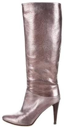 Botkier Metallic Knee-High Boots