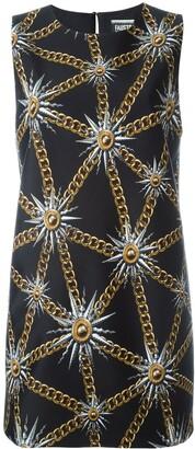 Fausto Puglisi sun and chain print dress