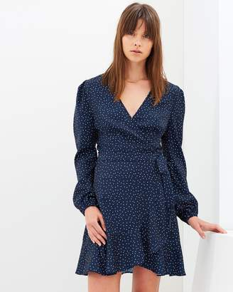 The Fifth Label Rooftop Polka Dot Long Sleeve Dress