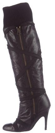 Stella McCartney Vegan Leather Over-The-Knee Boots