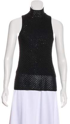 Ralph Lauren Sequined Sleeveless Top