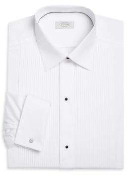 Eton Contemporary-Fit Pleated Bib Formal Dress Shirt