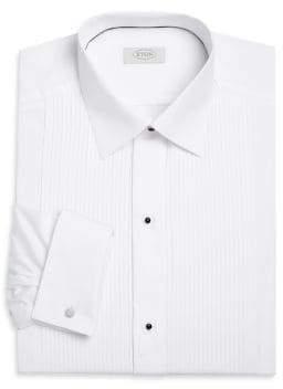 Eton Contemporary Fit Pleated Bib Formal Shirt